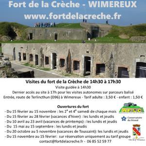 Visite du fort de la Crèche (2017)