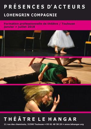 Présence d'Acteurs - formation professionnelle de théâtre, Toulouse (2017)