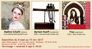 Exposition de peintures, sculptures, bijoux (2017)