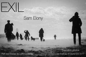 EXIL, photographies de Sam Elony (2017)