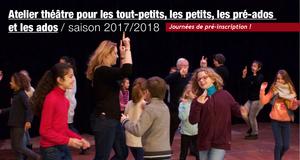 ATELIERS THEATRE de la COMPAGNIE REMANENCES (2017)