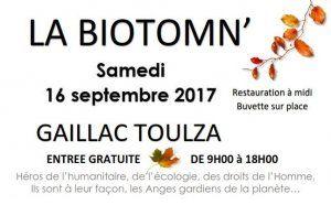 Festival du Bio et du Naturel : la Biotomn'  (2017)