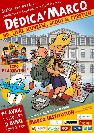Festival Dédica'Marcq : salon du livre, expos Playmobil (2017)