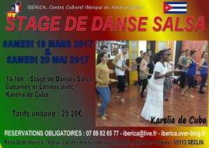 STAGE SALSA & DANSES CUBAINES ET LATINO (2016)