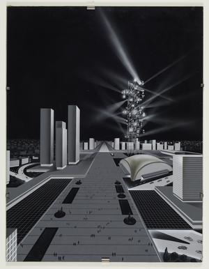 Nicolas Schöffer, Tour lumière cybernétique, vers 1967 © Adagp, Paris - Eléonore de Lavandeyra-Schöffer, 2018