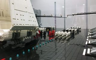 Exposition 100 % Lego®  Star Wars, prolongée au Château d'Ancy