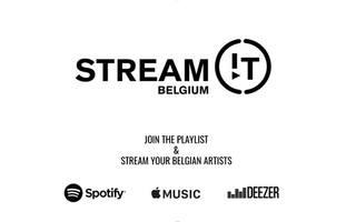 STREAM!T BELGIUM : une playlist pour soutenir les artistes belges