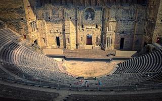 Théâtre antique orange et Chorégies d'Orange