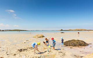 Baie de Morlaix : Amuser les enfants