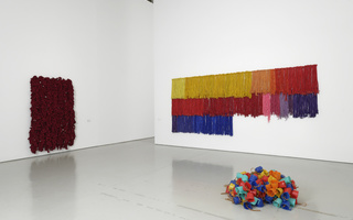 I am the single work artist d'Hassan Sharif