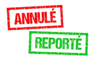 Annulations/reports du Spot de Mâcon
