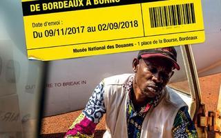Itinéraire d'un carton sans frontières - de Bordeaux à Borno
