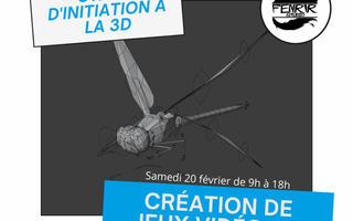 Création de jeux vidéo #2 : Stage d'initiation à la modélisation 3D