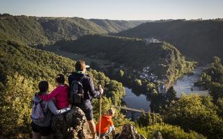 Pour les vacances de février, 2 randos dans le Tarn