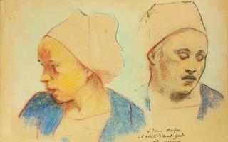 Des dessins de Gauguin et Bernard à Pont-Aven