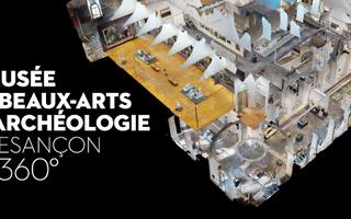 Visitez le Musée des Beaux-arts et d'archéologie de Besançon depuis votre canapé !