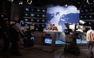 Une télévision française (à Cherbourg-en-Cotentin)