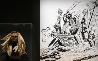 Exposition Hugo Pratt - Lignes d'horizons, au Musée d'Aquitaine à Bordeaux