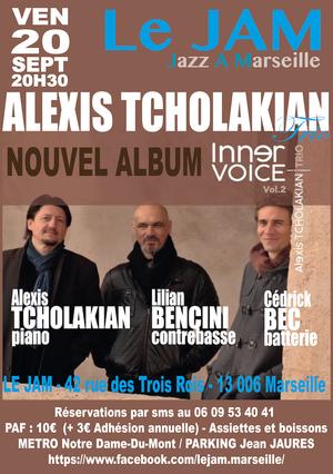 Alexis Tcholakian Trio  (2019)