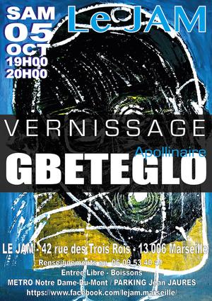 Vernissage Apollinaire GBETEGLO (2019)