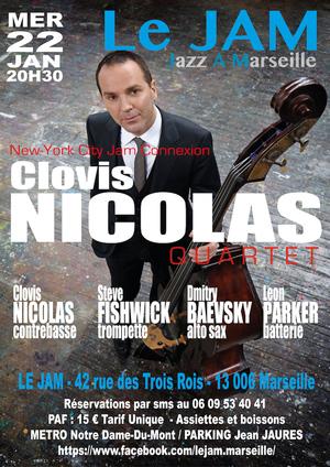 Clovis Nicolas Quartet Feat Leon Parker, D Baevsky, S Fishwick (2019)