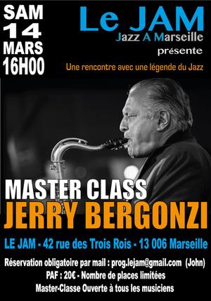 Master-Class Jerry Bergonzi (2020)