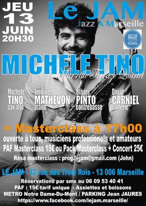 Michele Tino Quartet + MasterClass (2019)