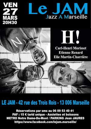 H! en concert au Jam Marseille (2020)