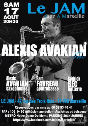 Alexis Avakian Trio (2019)