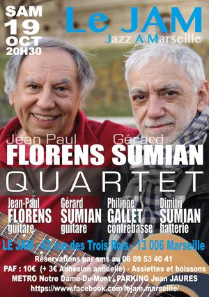 Jean Paul Florens & Gérard Sumian Quartet (2019)