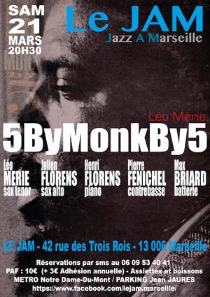 Léo Mérie - 5ByMonkBy5 - Quintet (2020)