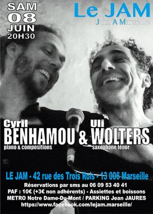 Cyril Benhamou et Uli Wolters (2019)