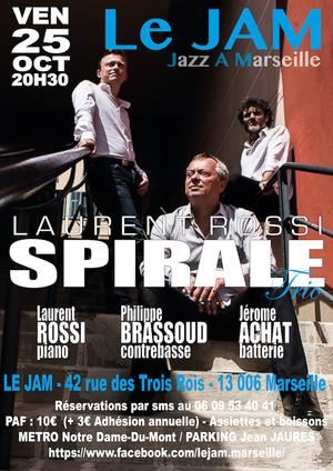 Laurent Rossi - Spirale Trio (2019)