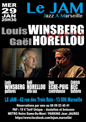 Louis Winsberg & Gael Horellou Quartet (2019)