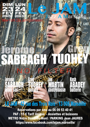 Jerome Sabbagh & Greg Tuohey Group (2020)