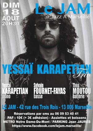 Yessaï Karapetian Trio (2019)