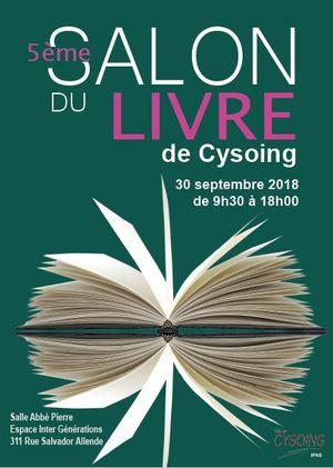 5ème Salon du livre de Cysoing (2018)