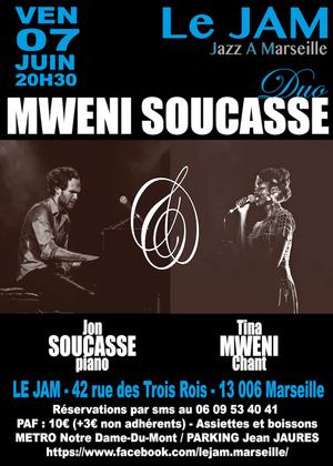 Duo Tina Mweni & Jon Soucasse (2019)