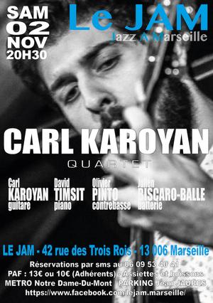 Carl Karoyan Quartet (2019)