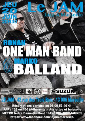 Ronan OneManBand & Marko Balland (2019)