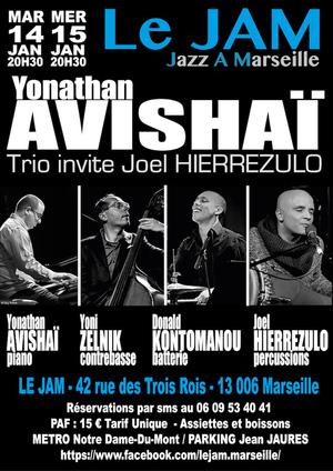Yonathan Avishaï Trio invite Joel Hierrezulo (2019)