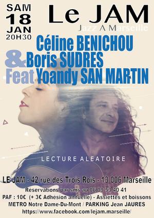 Céline Bénichou, Boris Sudres et Yoandy San Martin (2019)