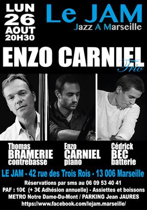 Enzo Carniel Trio Feat Thomas Bramerie & Cédrick Bec (2019)