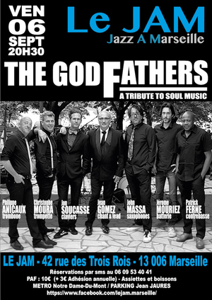 The Godfathers (Marseille) - A Tribute To Soul Music (2019)