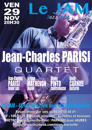 Jean-Charles Parisi Quartet (2019)
