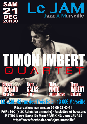 Timon Imbert Quartet (2019)