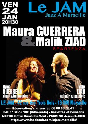 Maura Gurerrera & Malik Ziad - Spartenza (2019)