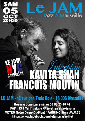 Kavita Shah & François Moutin - Interplay (2019)