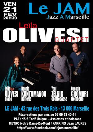 Leïla Olivesi Quartet (2020)