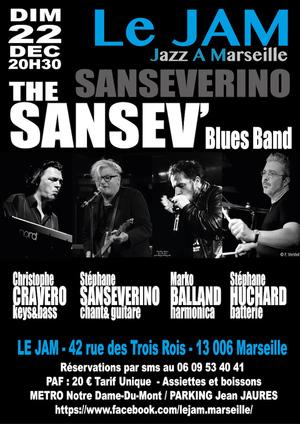 Sanseverino - The Sansev'Blues Band (2019)
